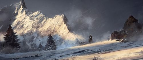 Through the Mountains by 88grzes