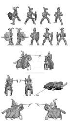 toyfigure -Tourney knights set- knight by the-John-Doe