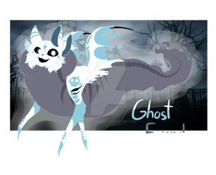  DTA  Ghost Friend (OPEN) by BabyWitherBoo