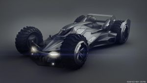 Batmobile Concept1 by Encho-Enchev