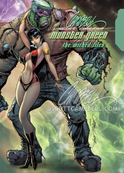 JSC's MONSTER GREEN HC by J-Scott-Campbell