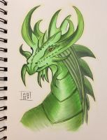 My knight's dragon by 8Annett8