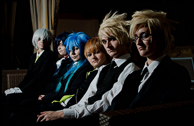 Dramatical Murder [DmmD] Photo Shoot Preview! by Pandas-and-Pocky