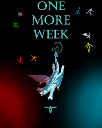 One more week! by CrystalCircle