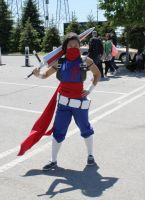 Anime North 2013 - Strider Hiryu by CallMeMrA