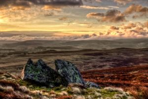 On the way to Llyn Arenig Fawr by CharmingPhotography