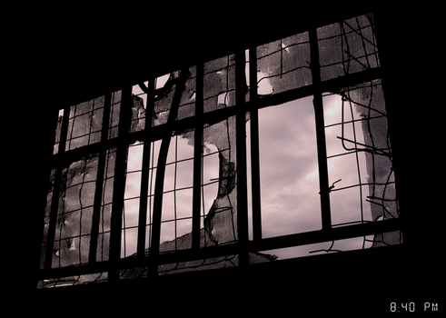 Window at Dawn by Criminal-Robot