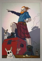 Julien - Inspiration : Jamie Hewlett by TheSqu