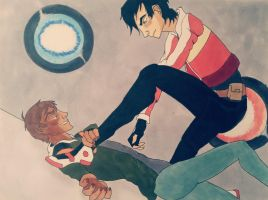 The Fight for Klance by sneakyramen