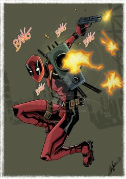 Deadpool by Griff-84