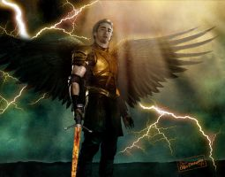 archangel Michael Lee Pace by OlgaVPirogova