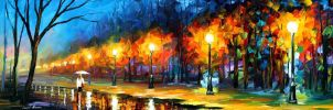 The scent of freshness by Leonid Afremov by Leonidafremov
