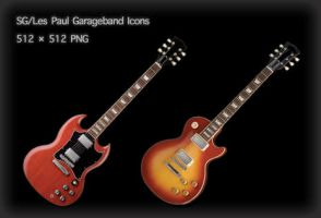 Garageband Icons 'Gibson' by Chris-Marshall