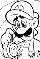SMB the movie coloring book REMAKE 10 by FlintofMother3