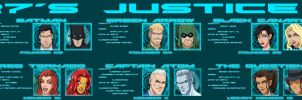 [Earth-27 Rosters] The Justice League (W.I.P.) by Roysovitch