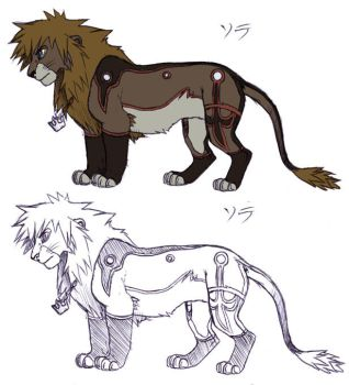 Valor Sora Lion by CherryJam
