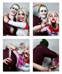 Harley and Joker - Photobooth (Ver 2)
