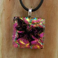 Tribal Butterfly Fused Glass by FusedElegance