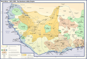 AH Map - West Africa - Joliba Empire by banananaise