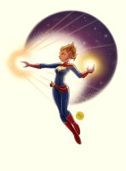 Captain Marvel by mikemaihack