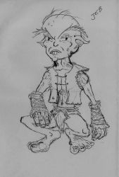 Buck-toothed goblinoid by Tenzhi