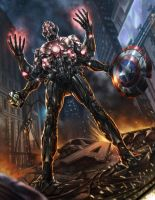 Ultron by oliverdking