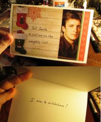 Browncoat holiday card by JLHilton