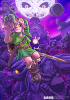 -- Tribute -- The Legend of Zelda: Majora's Mask by sarrus