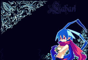 Laharl Wallpaper by elytSoN