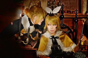 Vocaloid-Mr.Alice-Len and Rin03 by CE-Ciel