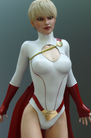 Power Girl by hitmanwa