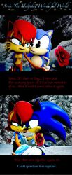 Sonic The Hedgehog Wonderful World Then And Now by shadow759