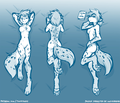 Kathrin Body Pillow by Twokinds