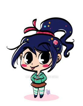 Vanellope by Malycia