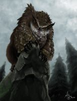Owlbear by chillier17