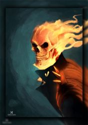 Ghost Rider by DiegoKlein