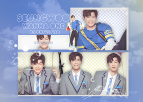 Seungwoo (Wanna One) | PNG PACK #33 | Produce 101 by taertificials