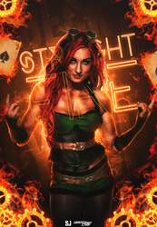 Becky Lynch - Straight Fire by Sjstyles316