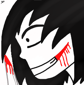 Jeff the killer _ Go to sleep _Fanart by Mytalkingangela
