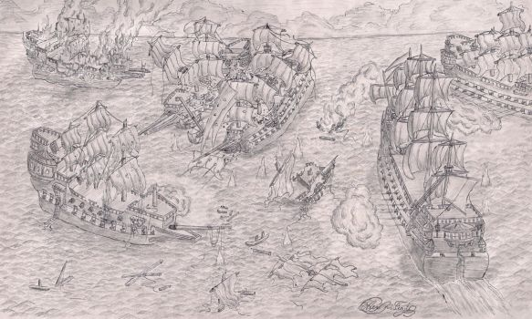 Battle of Gravelines by AJR3