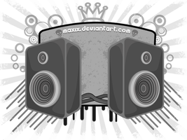 sound system wall by maxix