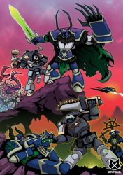 The Battle for Kayon Sigma by CatzK3