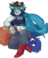 cobalt bloodswap nepeta by dongoverlord