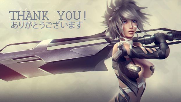 THANK YOU! by Eddy-Shinjuku