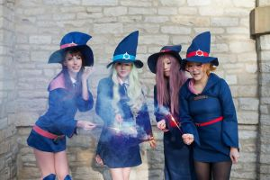 Little Witch Academy III by MeganCoffey