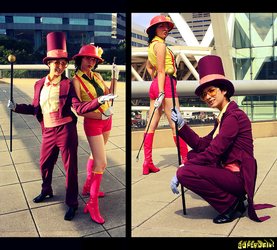 Superjail Cosplay by kaiser-mony