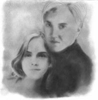 Draco and Hermione by Eileen9
