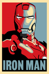Iron Man Hope Style Poster