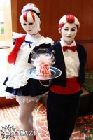 Peppermint Butler and Maid - At Your Service by xHee-Heex