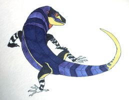Plink Lizard by Quadrupedal